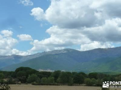 Paseo y Baño por el Valle y Río Tiétar;cañadas reales foro trekking parques naturales de madrid